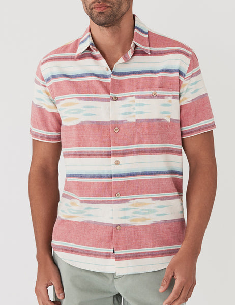 Short-Sleeve Coast Shirt - Native Ikat