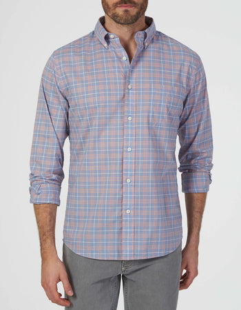 2605040037b Everyday Button-Down Shirt - Dusty Coral Plaid ...