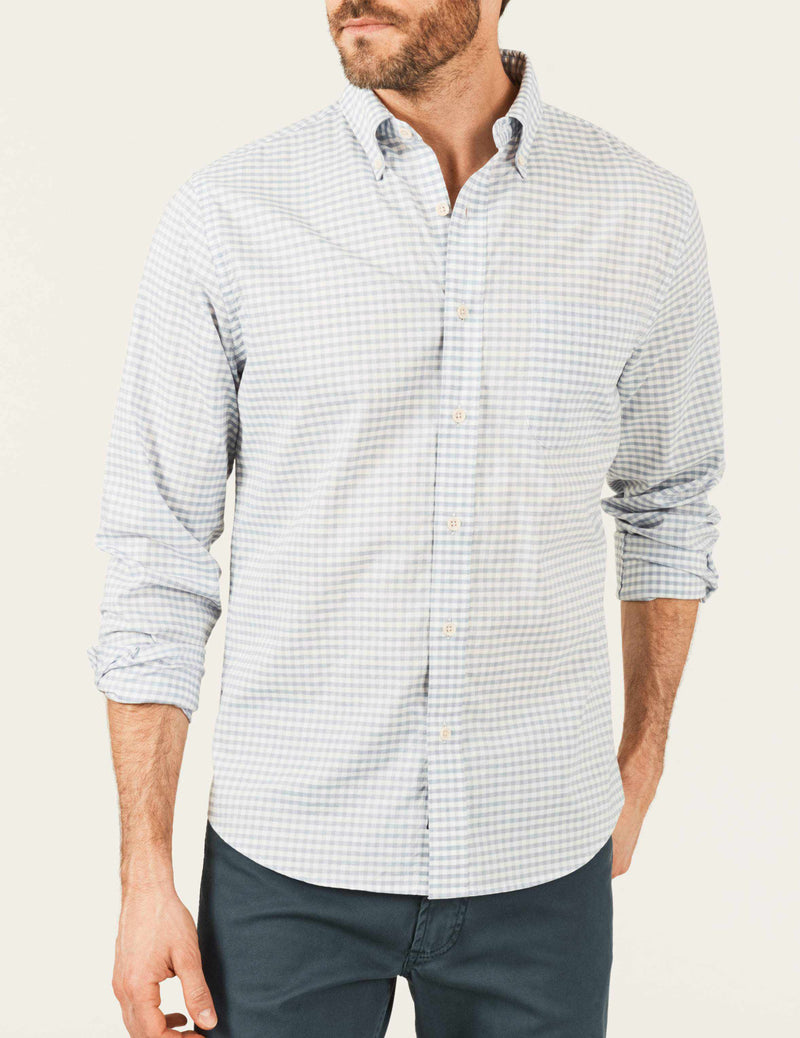 Everyday Shirt - Grey Gingham