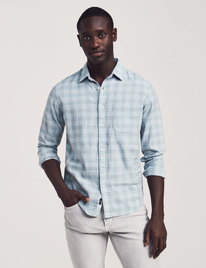 Cloud Cotton Everyday Shirt - Meadows Plaid
