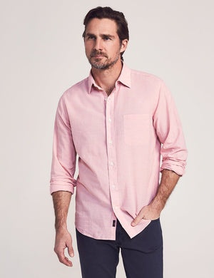 Cloud Summer Blend Shirt - Pink End On End