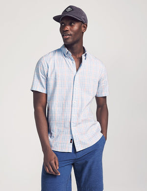 Short-Sleeve Movement Shirt - Conway Plaid