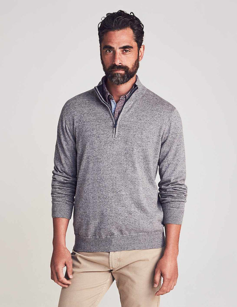 Sconset Pullover - Grey Heather