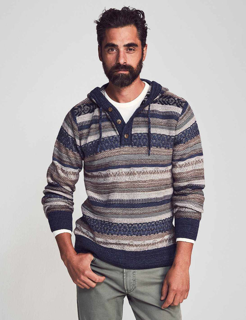 Lost In Machu Picchu Sweater Poncho - Earth