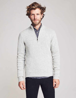 Reserve Cashmere Pullover - Heather Grey