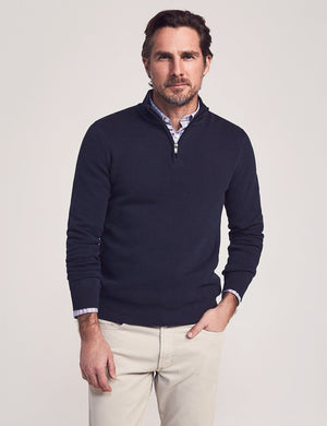 Montego Quarter Zip - Navy