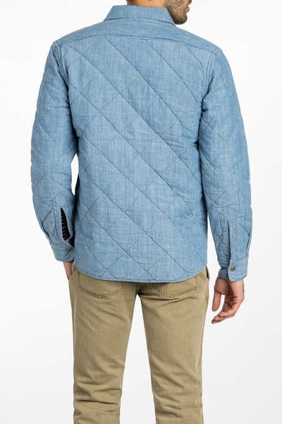 Sunset Arrow Reversible Quilted Jacket