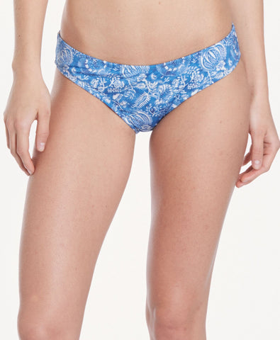 Brief Bottom - Peacock Floral
