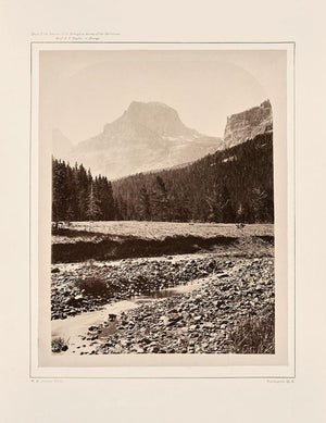 Muir Way - Palace Butte, Near Mount Blackmore, Yellowstone 1873
