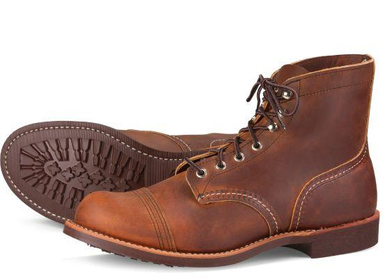 Mens Red Wing Iron Ranger - Copper