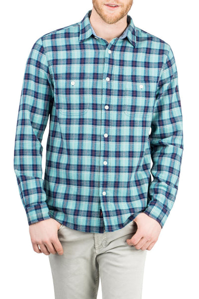 Seasons Shirt - Green/Blue/Red