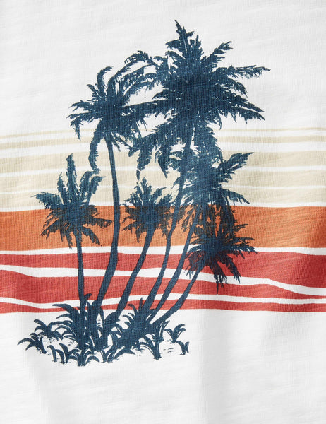 Printed Graphic Tee - Huckberry Sunset
