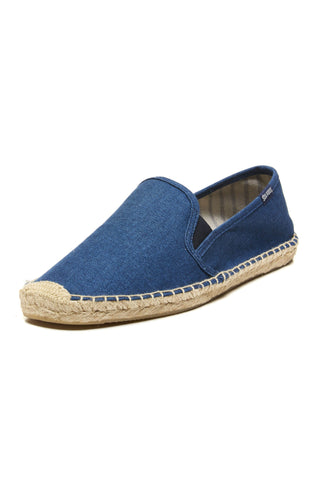 Soludos Smoking Slipper - Gore Indigo