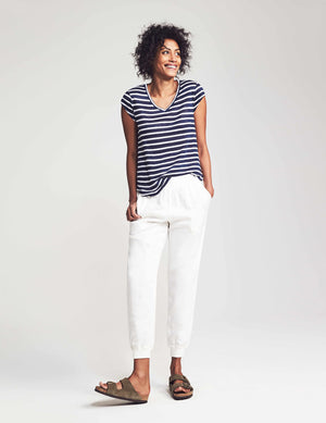Arlie Day Pant - White