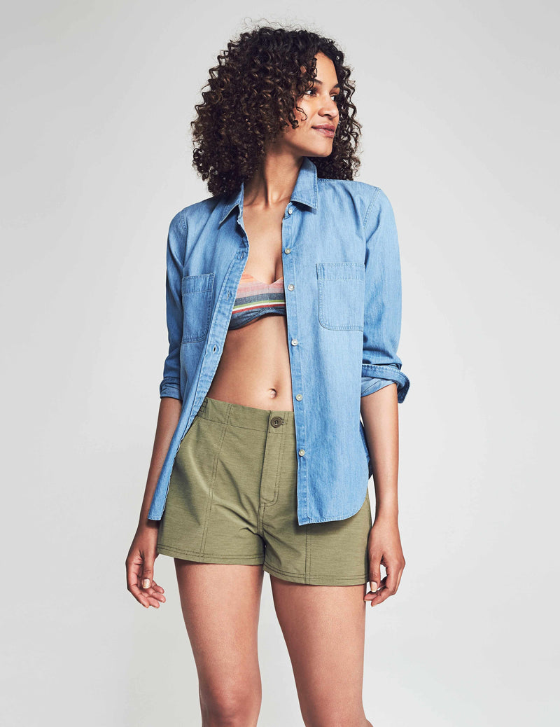 All Day Short - Olive