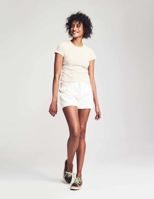 Sleepaway Short - White