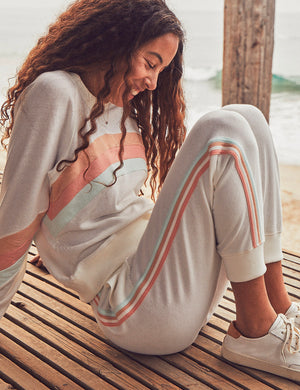 Molli French Terry Jogger - Golden Hour