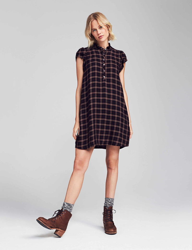 Keterly Dress - Harper Plaid