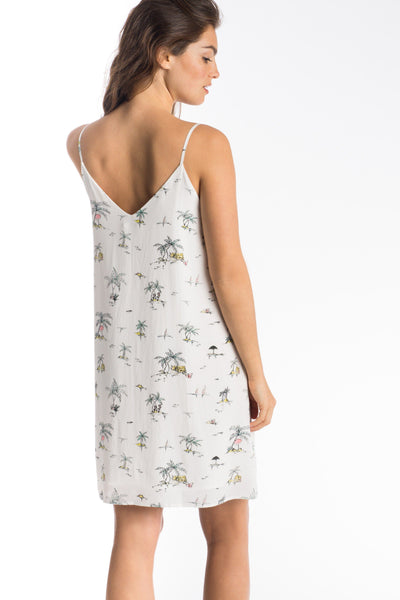Candice Dress - Pacific Atoll