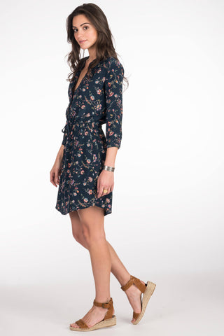 Evelyn Dress Traveling Floral
