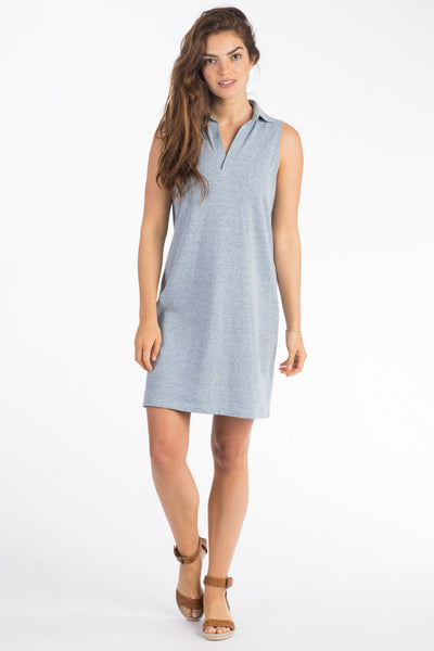 Starboard Dress - Blue Feeder Stripe