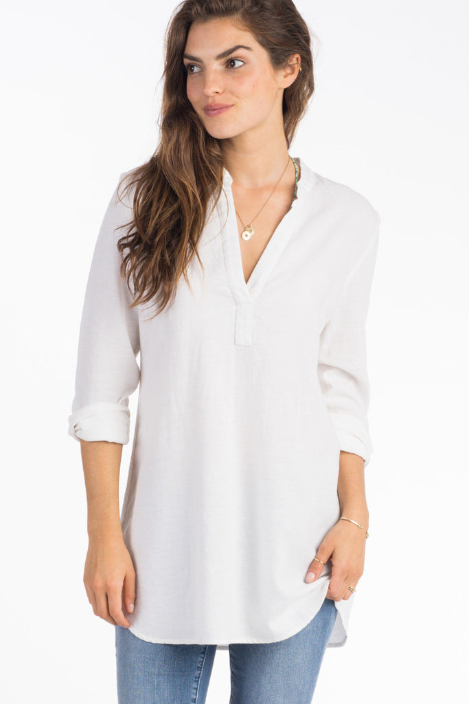 Kewalo Tunic - White