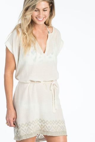 Solana Coverup Dress - Sandstone