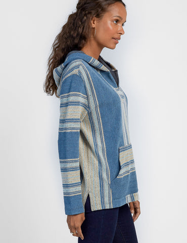 Seabrook Poncho - Green Room Serape