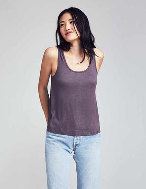 Natural Dyed Tank - Carbon