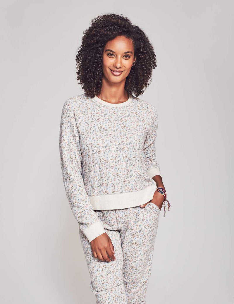 Sunday Pullover - Ditsy Floral Print