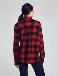 Black Red Buffalo Check