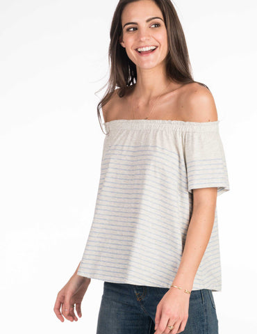 Nashville Top - Blue Sailor Stripe