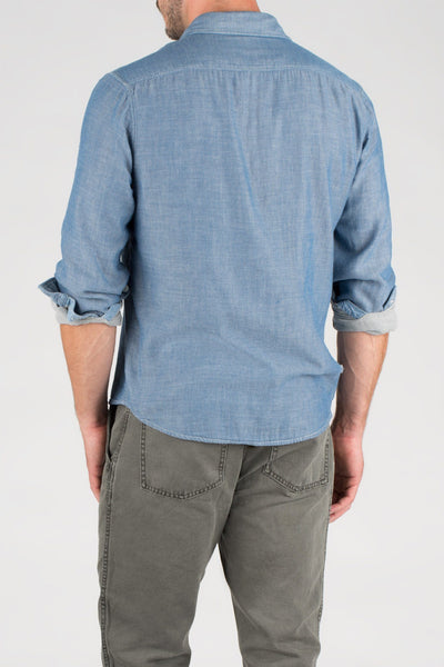 Seaview Shirt - True Indigo