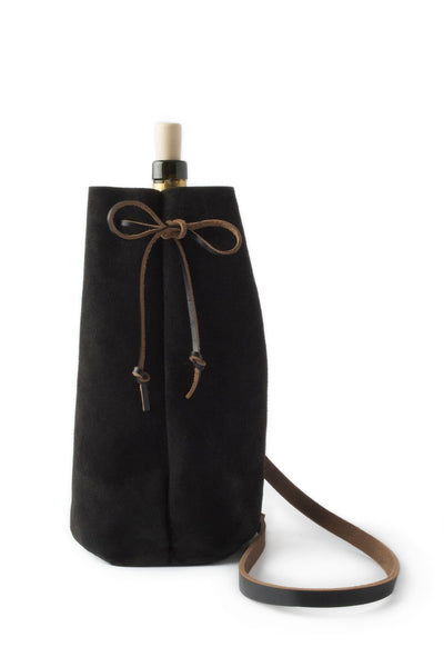 Waltzing Matilda Growler Wine Bag - Black