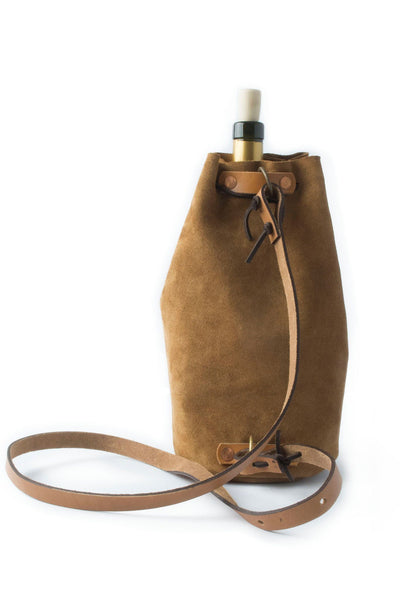 Waltzing Matilda Growler Wine Bag - Tan