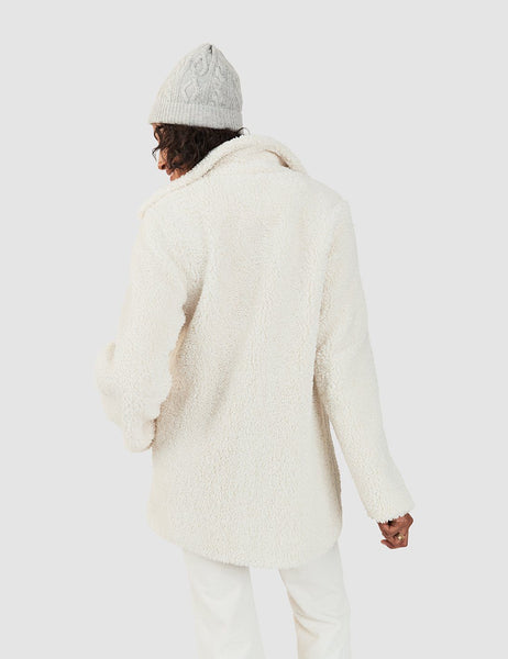Tahoe Teddy Coat - Winter White