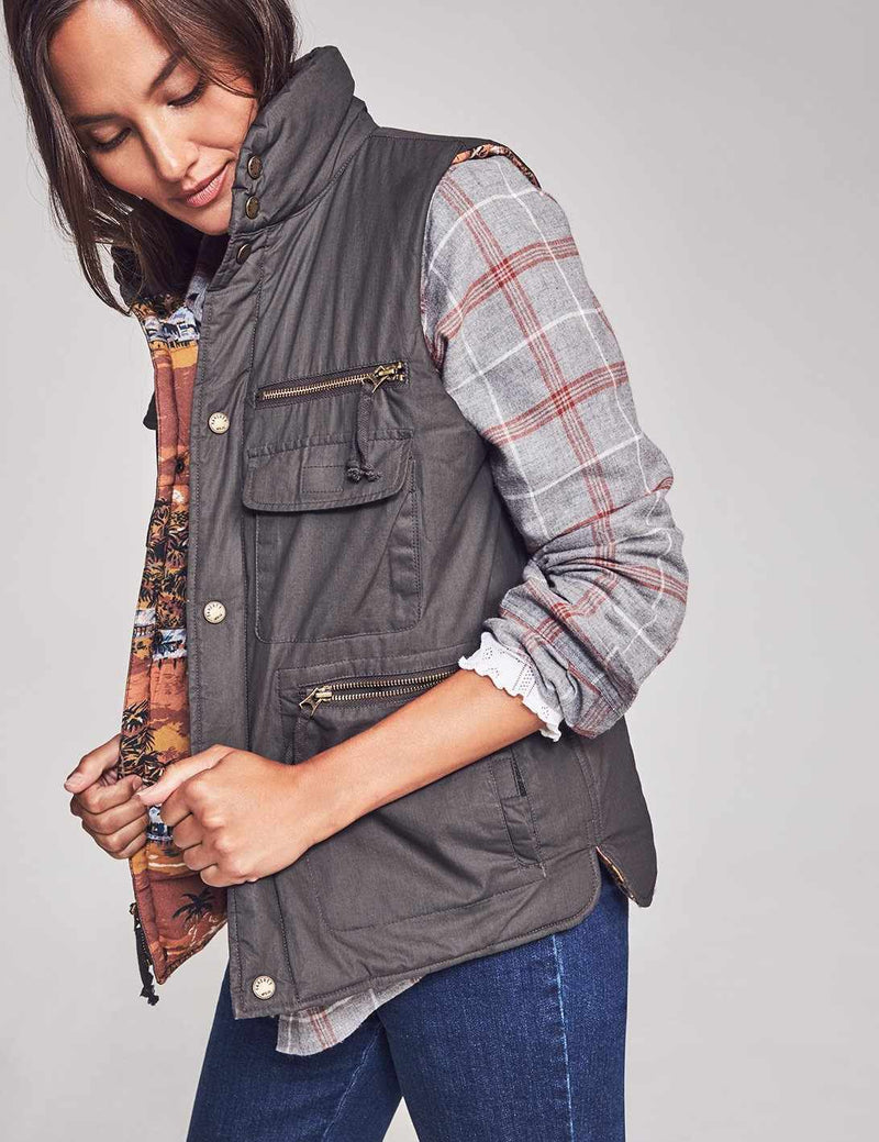 Scout Utility Vest - Faded Black