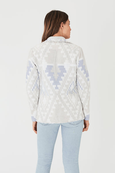 Antibes Jacket - Diamond Aztec