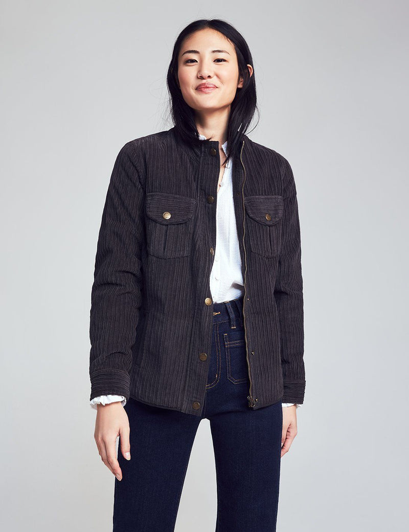 Acadia Utility Jacket - Washed Black