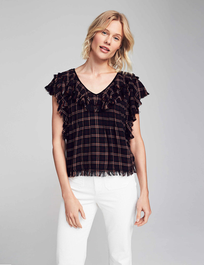Yosepha Top - Harper Plaid