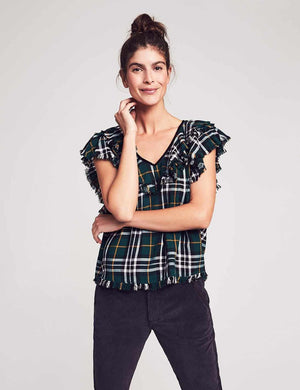 Yosepha Top - Ivy Plaid