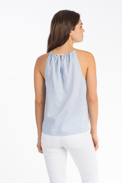 High Seas Tank - Oxford Chambray