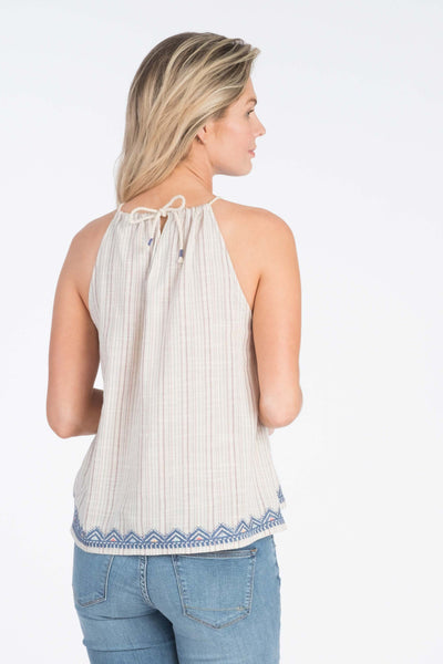 High Seas Tank - Paradise Stripe