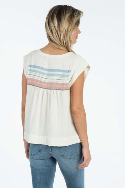 Juliette Top - Sunset Serape