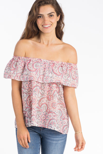 Saylor Top - Summer Blossom