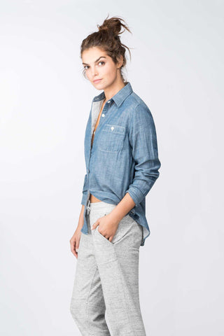 Seaview Workshirt - Chambray