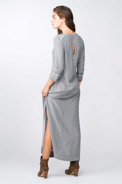 Kerry Printed Silk Dress