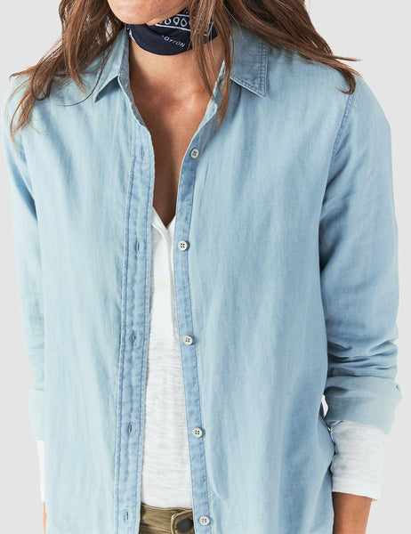 Malibu Shirt - Light Indigo