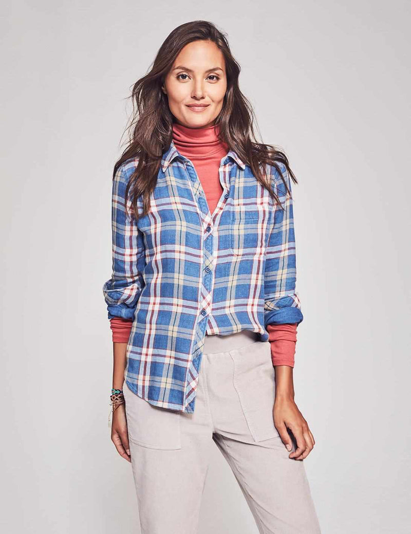 Malibu Shirt - Sawyer Plaid
