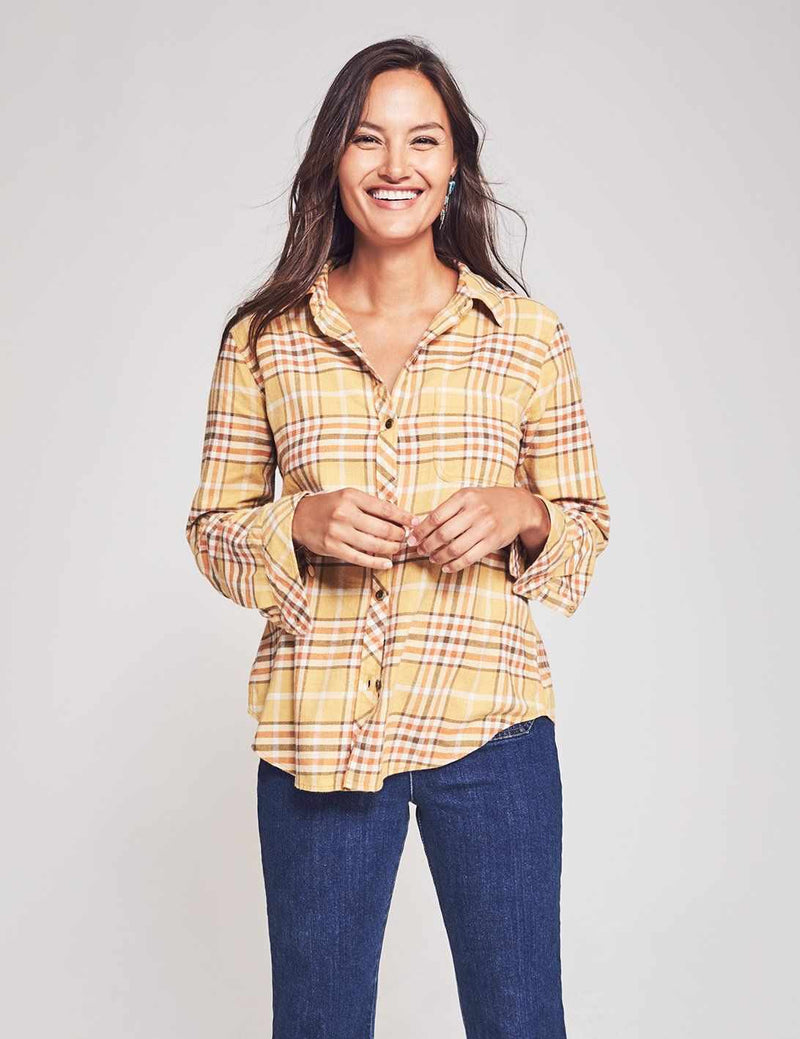 Malibu Shirt - Galway Plaid
